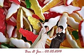 animation mariage photo montage fon vert