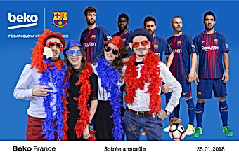 paris animation soirée d'entreprise photo montage photobooth