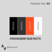 UX Academy color palette