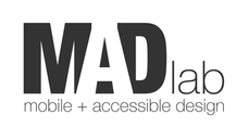Logo for the Mobile + Accessible Design lab at the University of Washington