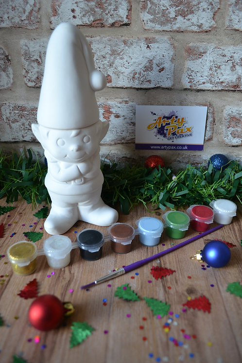 Paint Your Own Christmas Elf For The Shelf Box Kit