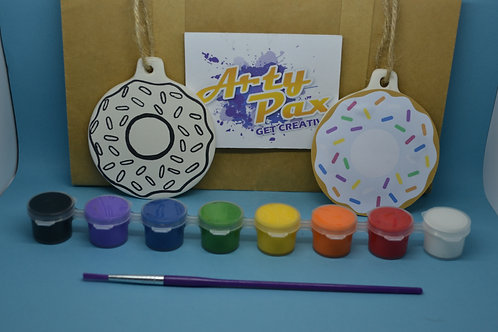 Paint Your Own Doughnut Decoration Kit