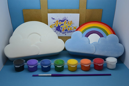 Paint Your Own Rainbow Jewellery Box Kit