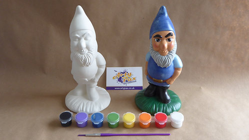 Paint Your Own Gnome Kit