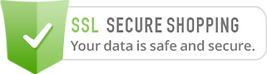 Our website is SSL secured for safe shopping