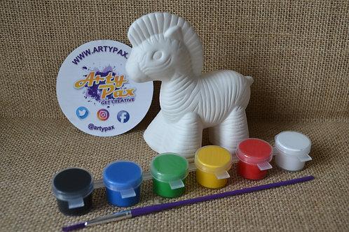 Paint Your Own Zebra Kit