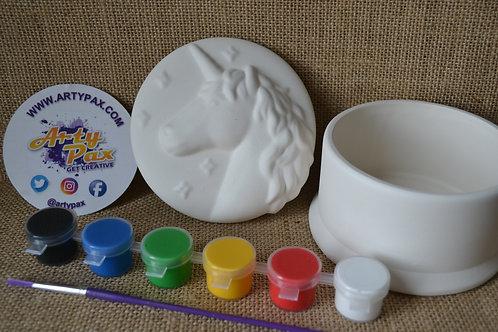 Paint Your Own Unicorn Jewellery Box Kit