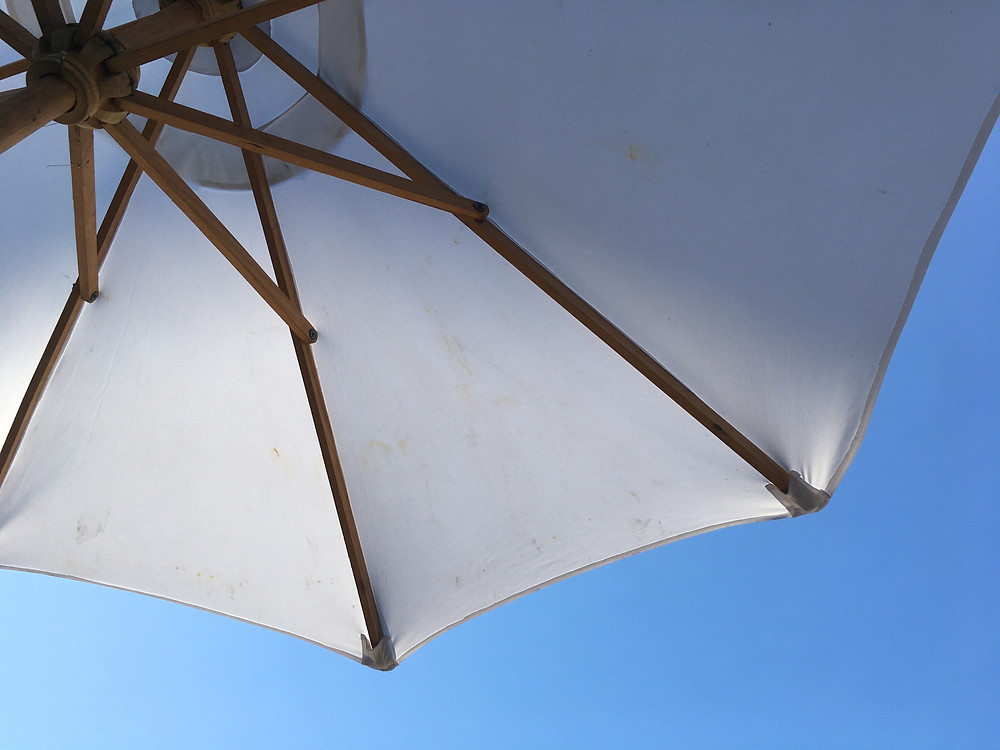 Sun safe in the shade
