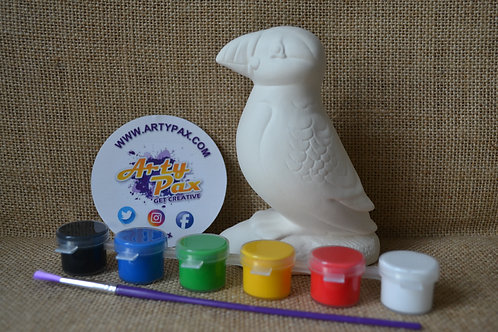 Paint Your Own Puffin Kit