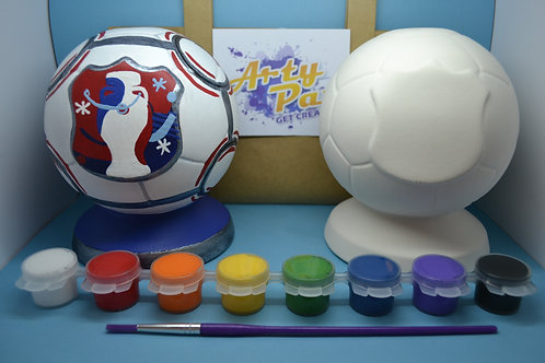 Paint Your Own Football Money Box Kit