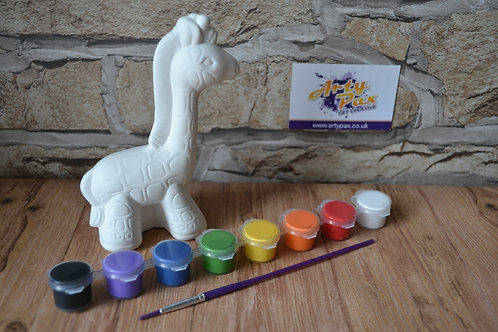 Paint Your Own Giraffe Kit