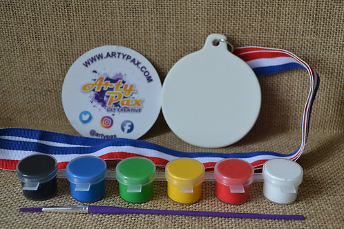 Paint Your Own Medal Kit