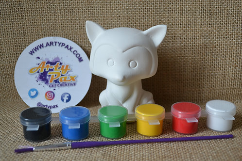 Paint Your Own Fox Kit