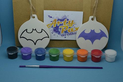 Paint Your Own Bat Girl Decoration Kit