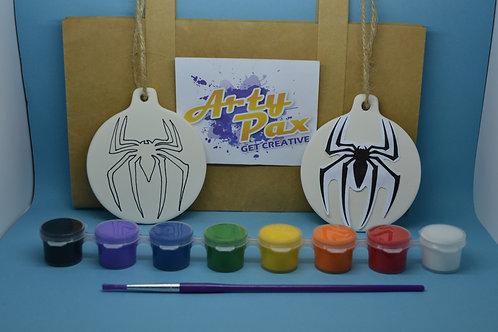 Paint Your Own Superhero Spider Man Decoration Kit