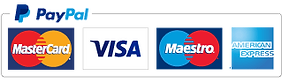 We accept Paypal payments & all major credit/debit cards through Paypal