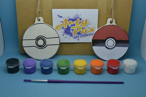 Paint Your Own Anime Ball Decoration Kit