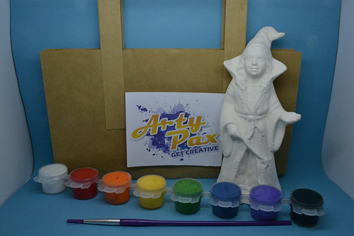 Paint Your Own Witch Figure Kit