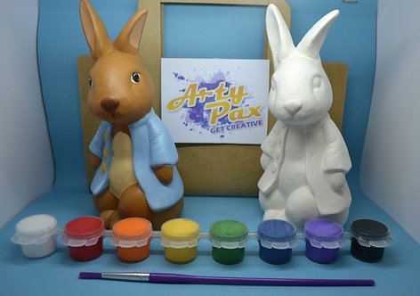 Paint Your Own Peter Rabbit Figure Kit