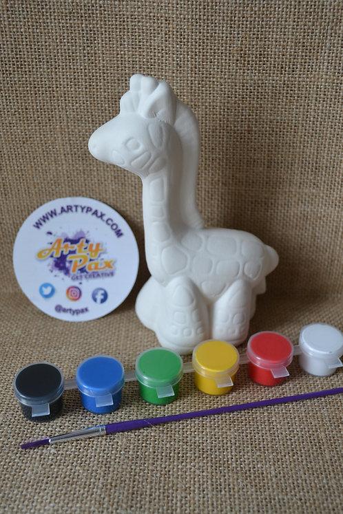 Paint Your Own Giraffe Kit