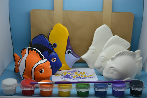 Paint Your Own Finding Nemo Fish Kit