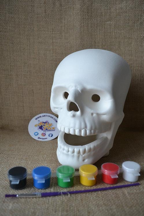 Paint Your Own Skull Kit
