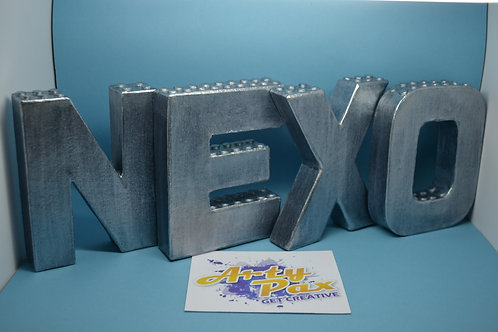 Personalised Lego Nexo Knights Letters