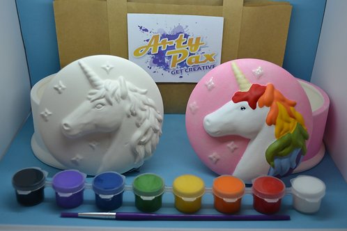 Paint Your Own Unicorn Jewellery Box Kit