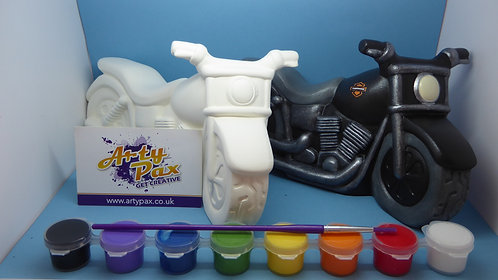 Paint Your Own Motorbike Kit