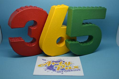 Custom Lego Numbers