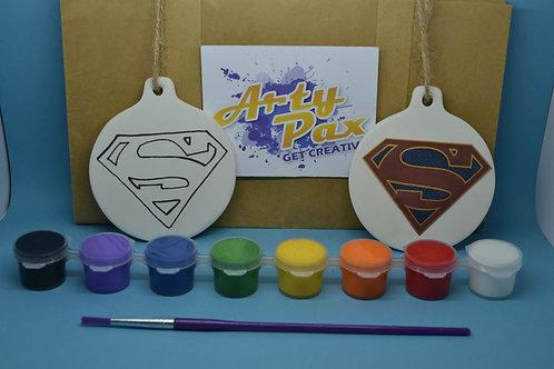Paint Your Own Superhero Super Decoration Kit