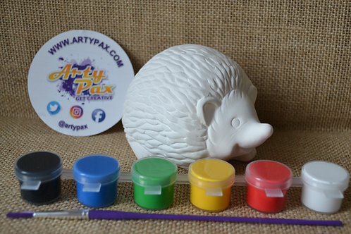 Paint Your Own Hedgehog Kit