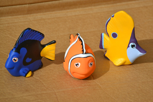 Hand Painted Ceramic Fish Figure Set | Artypax – The Online Pottery ...