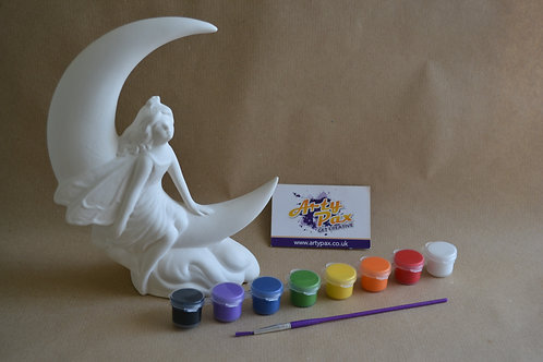 Paint Your Own Fairy And Moon Kit