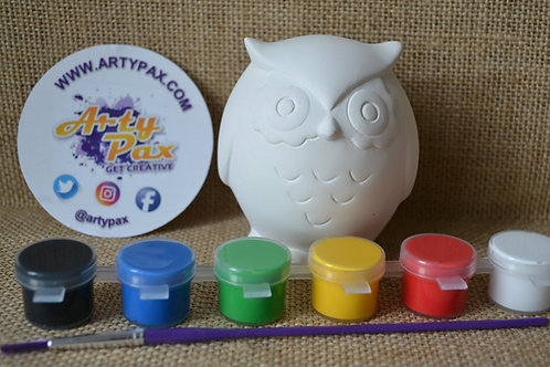 Paint Your Own Owl Kit
