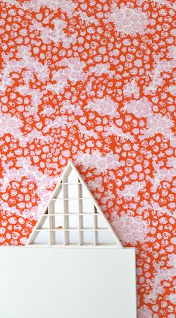 EVRS - Orange Berries Wall