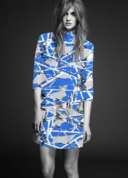 EVRS - Blue Web Dress