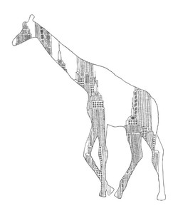EVRS - Concrete Jungle - Giraffe