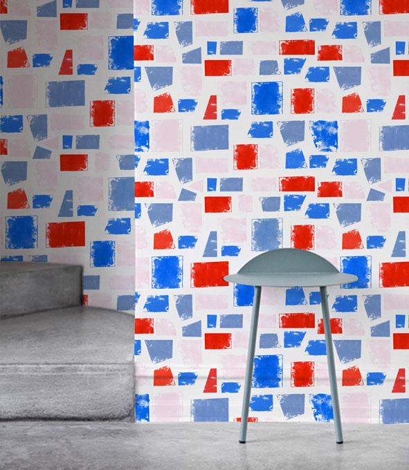 EVRS - Colour Blocks Wall