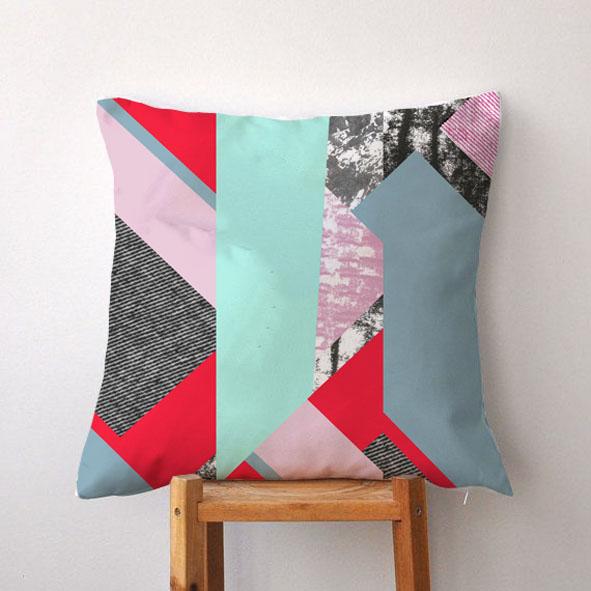 EVRS - Broken Stripes Cushion