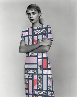 EVRS - Texture Tiles Dress