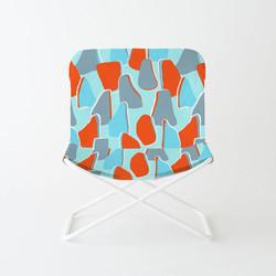 EVRS - Blue Boulder Chair
