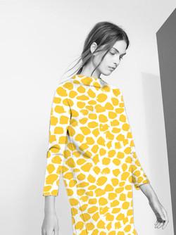 EVRS - Yellow Spot Dress
