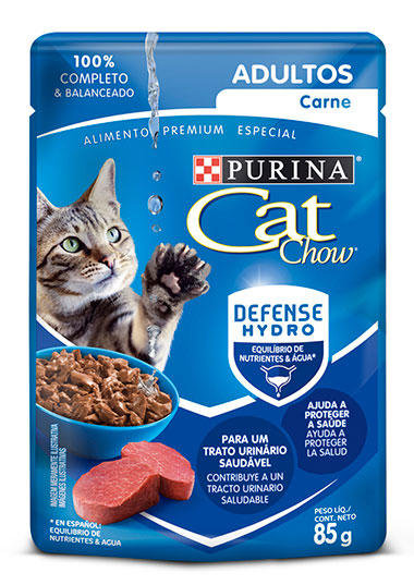 Cat Chow SOBRE ADULTO CARNE