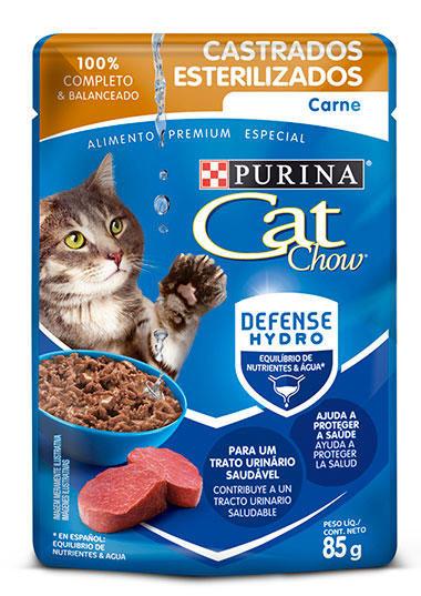 Cat Chow SOBRE ESTERILIZADO CARNE