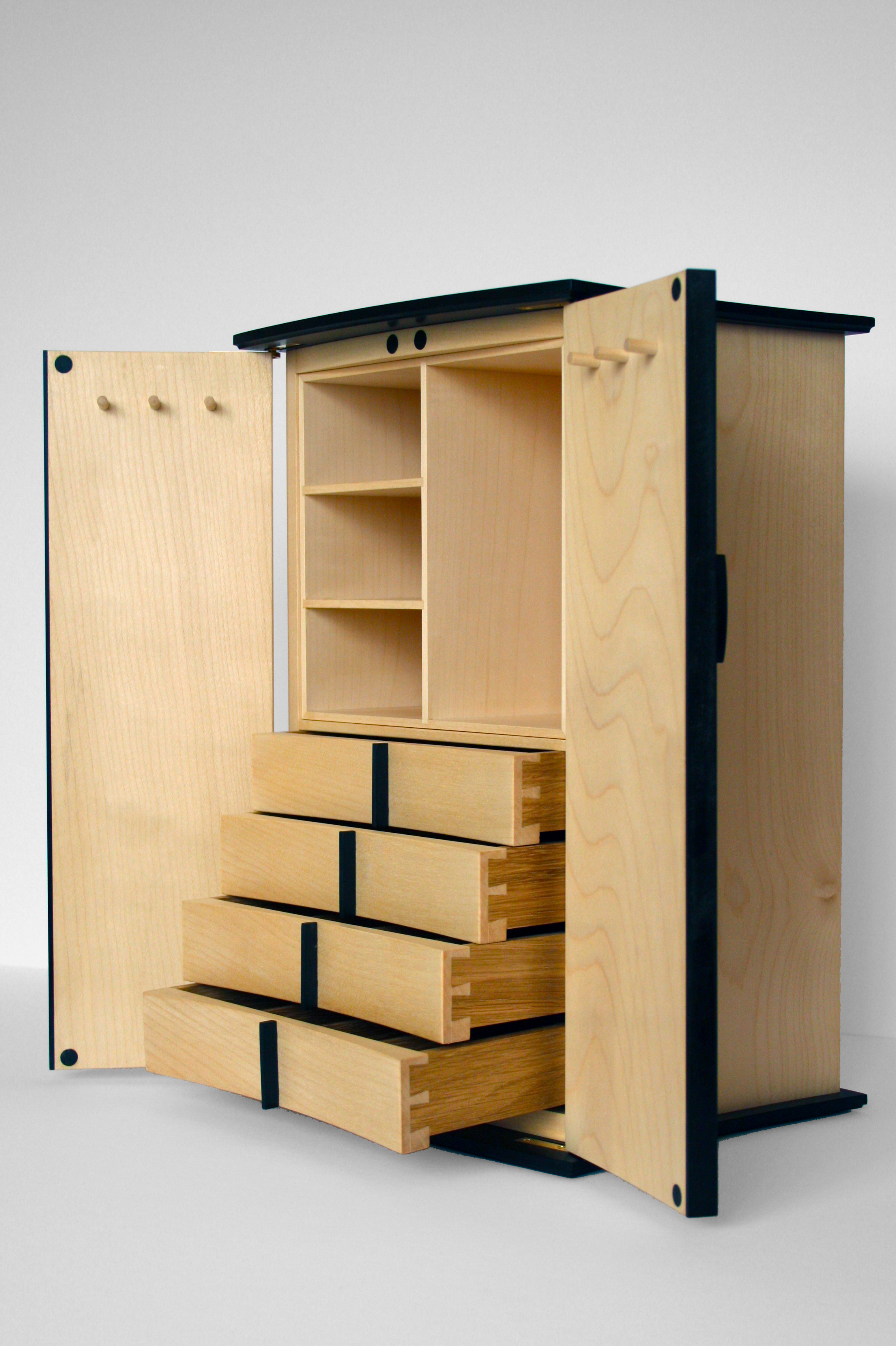 Cabinet for jewellery storage