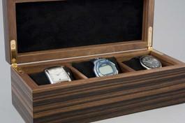 Macassar ebony watch box