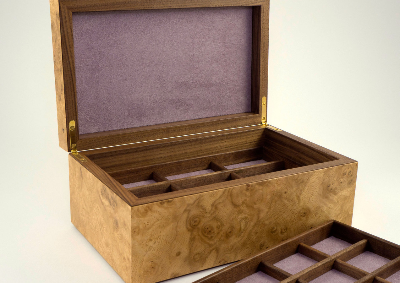 Jewellery storage trays