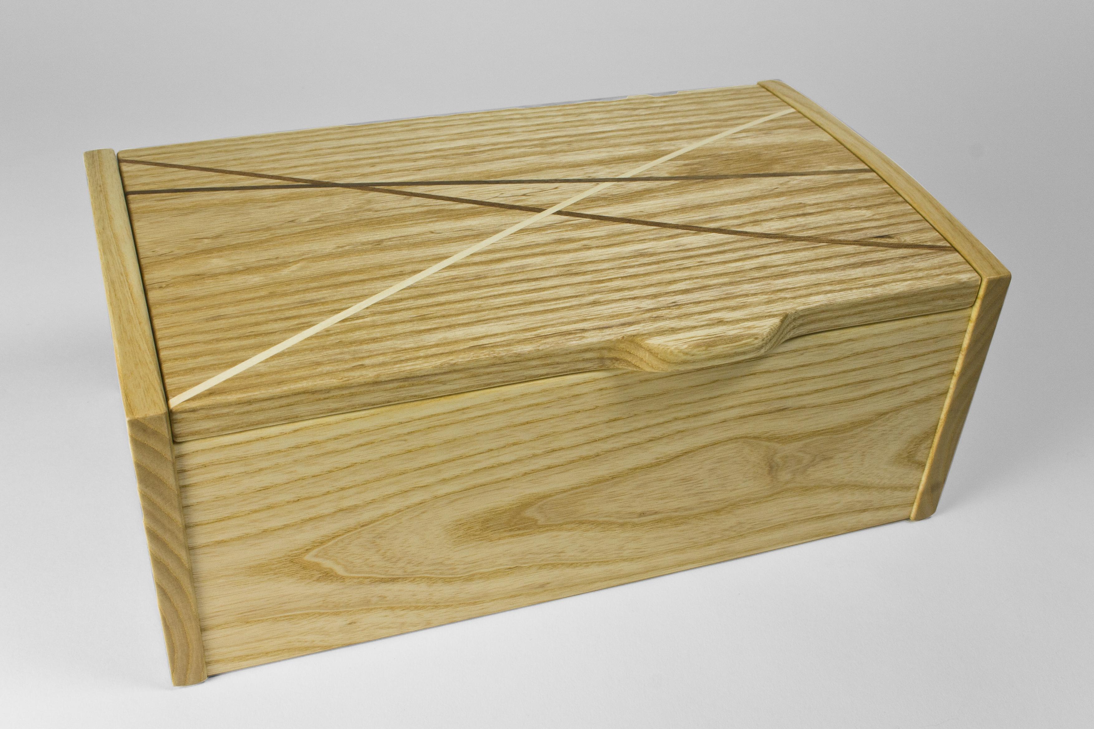 Ash 'Winding Paths' jewellery box