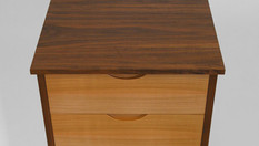 Cherry tallboy chest of drawers
